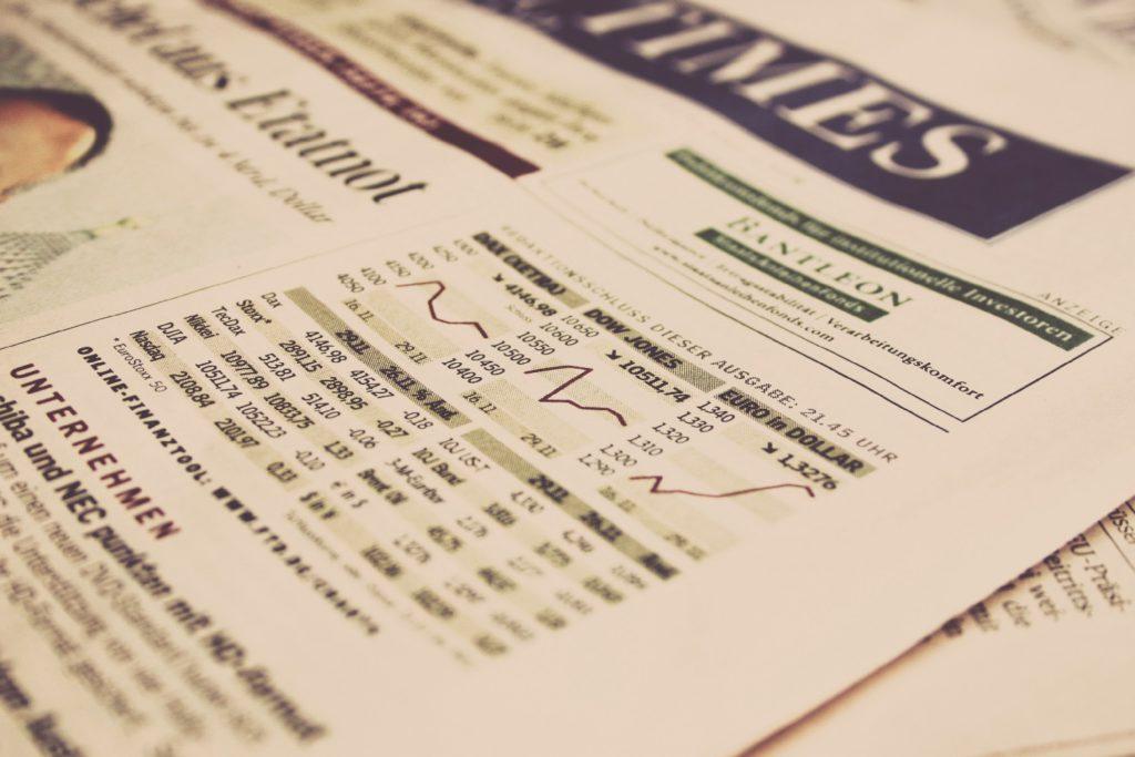 Verkiezingsvoorspellingen in krant