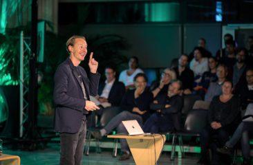 Daan Roosegaarde op Media Villa Arnhem / Techweek