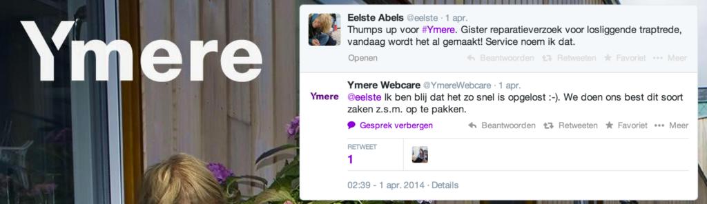 webcare woningcorporatie Ymere