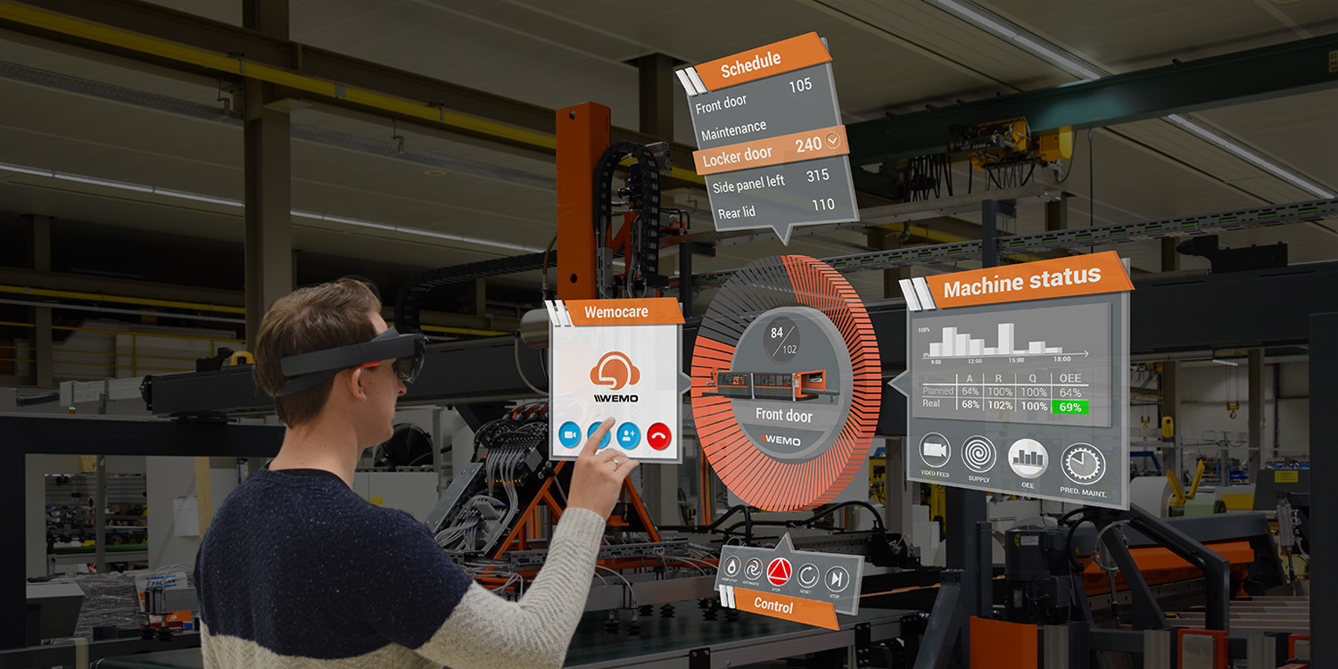 Hergeboorte Van Virtual Reality En Augmented Reality