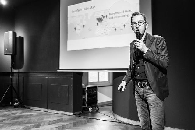 Menno Lammers over proptech op Media Villa Arnhem - Foto Bas Boerman