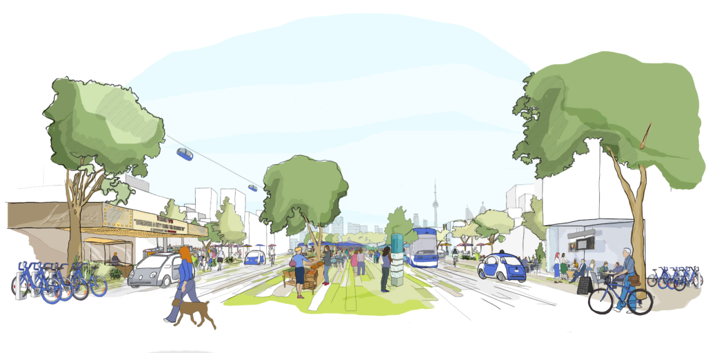 Toronto Waterfront Mobility Vision - Sidewalk Labs