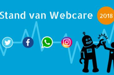 Stand van webcare 2018 - Onderzoek digitaal klantcontact