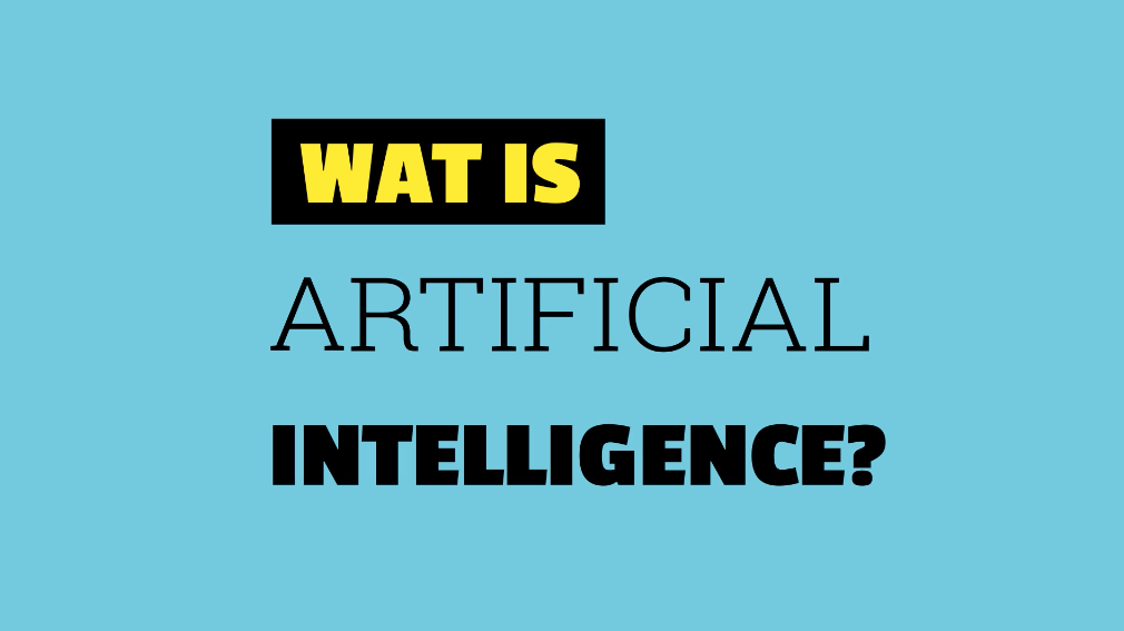 Wat is artificial intelligence = nationale AI-cursus