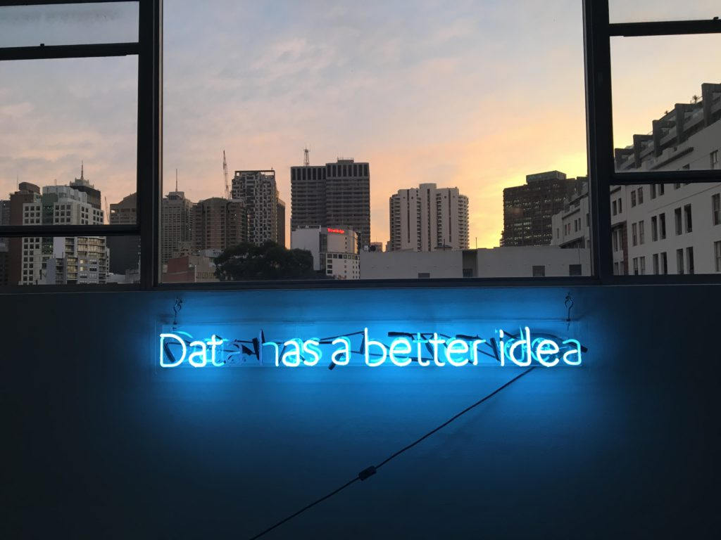 Data has a better idea - Frank Chamaki via unsplash