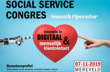 Social Service Congres 2019 - Innovatie in digitaal en menselijk klantcontact