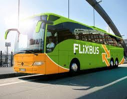 Een groene flixbus