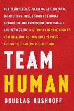 Cover boek Team Human = Douglas Rushkoff