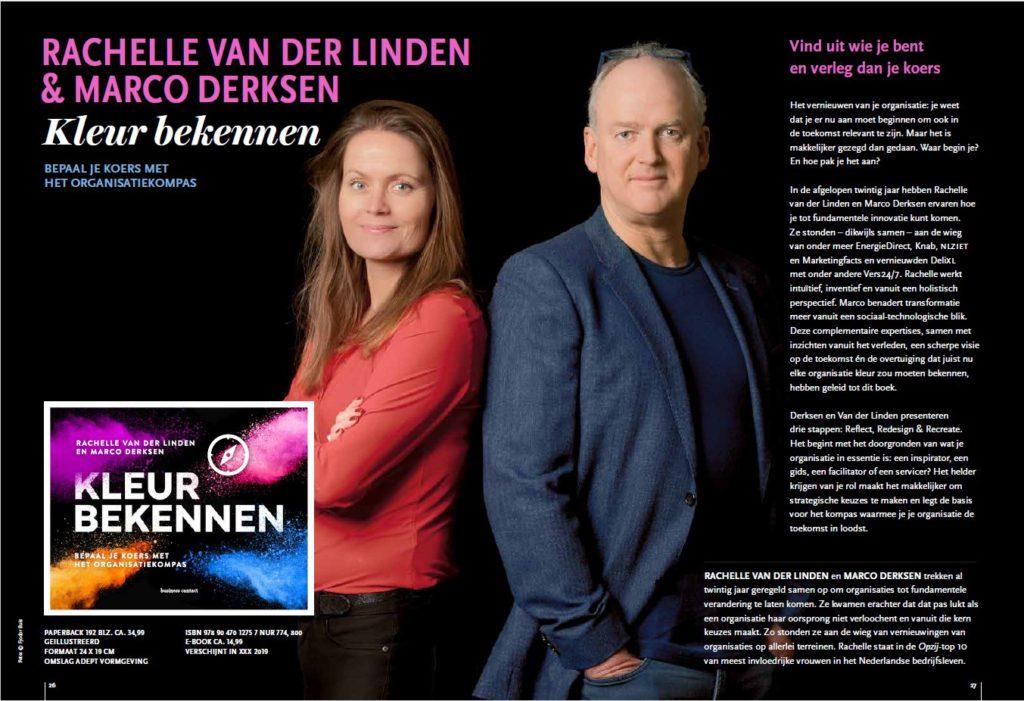 Boekomslag Kleur Bekennen - Marco Derksen & Rachelle van der Linden