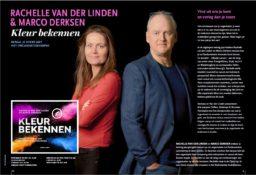 Boekomslag boek Kleur Bekennen - Marco Derksen & Rachelle van der Linden