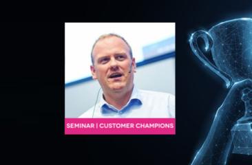 Seminar Customer Champions met Steven van Belleghem