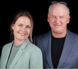 Auteurs Kleur Bekennen - Rachelle van der Linden en Marco Derksen