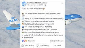 social-media-marketing-klm