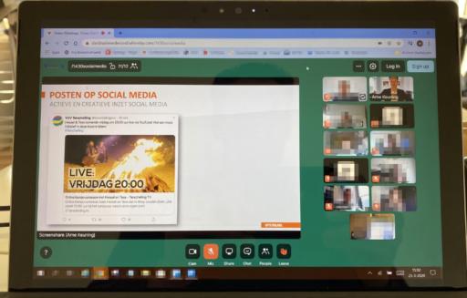 Online chat- en videosessie Kennisnetwerk Destinatie Nederland